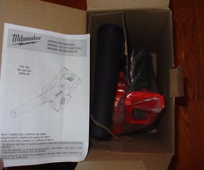 Milwaukee 0884-20 18V M18 Compact Blower (Tool Only) New- FAST FREE SHIPPING