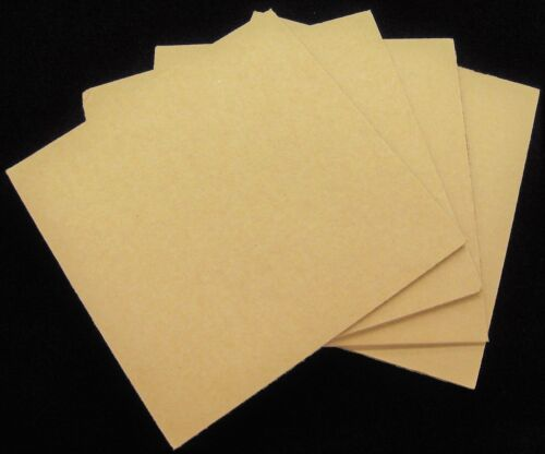 "50 Filler Pads Cardboard Shipping Inserts for 12"" LP 33rpm DJ Vinyl Record Album"