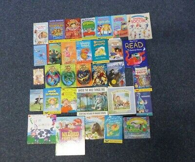 Job Lot 32 Books Mostly fiction Children 4-8 yrs