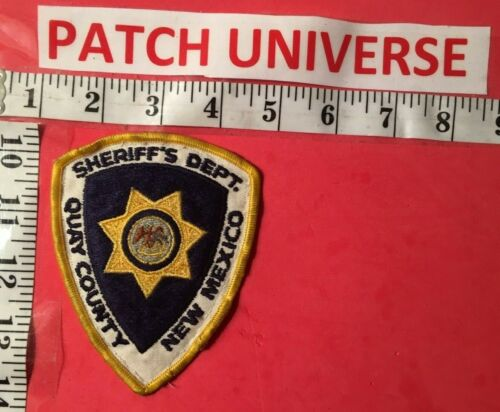 QUAY COUNTY  NM  SHERIFF  SHOULDER PATCH  P050
