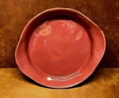 RACHAEL RAY 1.5 Quart Round Casserole Baker ~ Handpainted Cranberry/Red # -