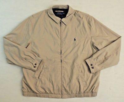 $225 Polo Ralph Lauren Pony Windbreaker Bi Swing Zip-Down Coat Jacket 2XLT 3XB Down Windbreaker