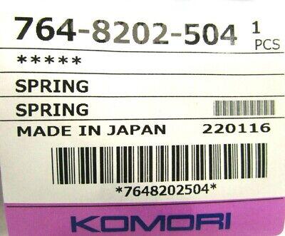 Genuine Oem Komori Spring 764-8202-504 Printing Press Part 220116 New