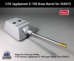 Amusing Hobby 1/35 German Jagdpanzer E-100 Brass Barrel for 35A015