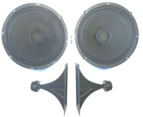 "SEEBURG STD2 JUKEBOX:  Working /Great Sounding SPEAKER SYSTEM 2 - 12"" & 2 Horns"