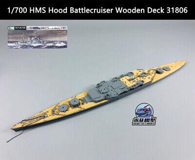 Tamiya 1/700 HMS Hood Battlecruiser Wooden Deck -