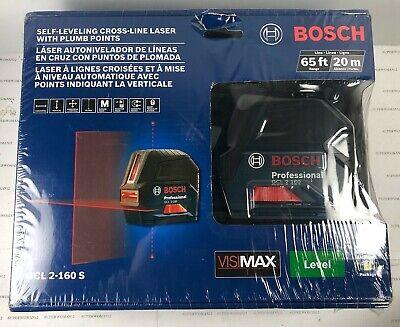BOSCH Self-Leveling Cross-Line Laser Level GCL 2-160 S