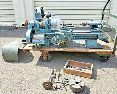 South Bend 9x 36 Precision Belt Driven Lathe With 3 4 Jaw Chucks And Tolling