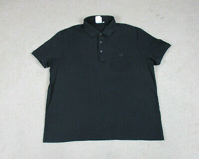 Lacoste Polo Shirt Adult Extra Large Size 7 Black Crocodile Saks Fifth Avenue