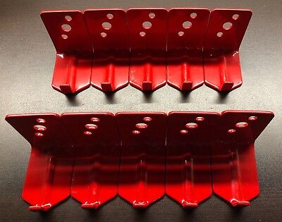10 Lot New Hook Style Wall Mount 20 Size Fire Extinguisher Bracket Universal