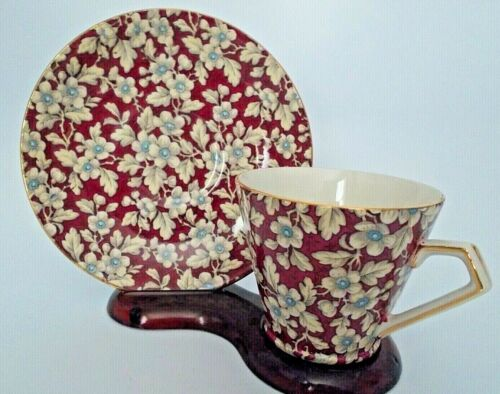 Lord Nelson Ware Flora Chintz  Pattern Cup & Saucer BCM