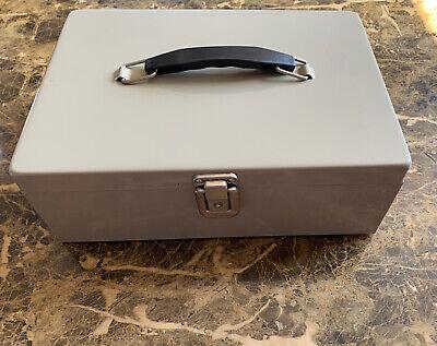 Cash Box With Money Tray  Money Saving Storage Box Metal Cases