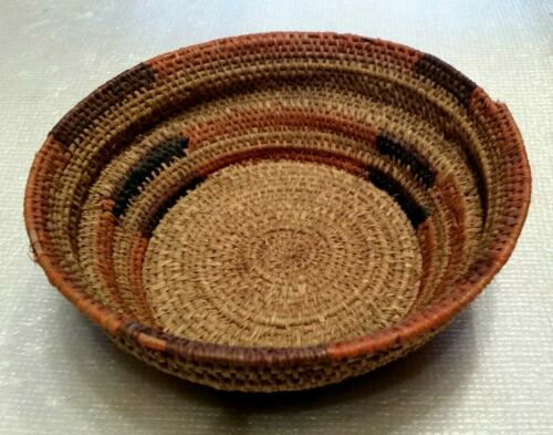old Northwest Coastal Native American Basket,Makah ? Piaute?