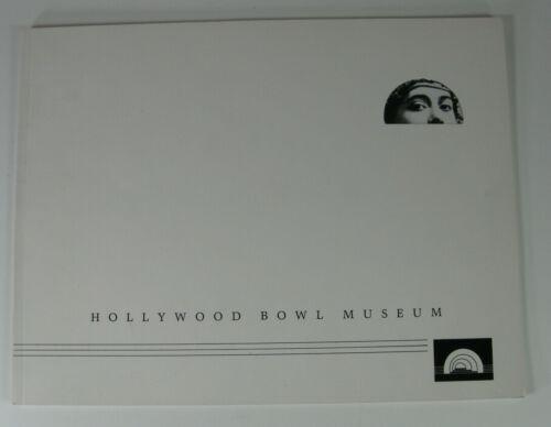 Hollywood Bowl History Scarce 1985 Ed. - Plus 1988 & 1989 Bowl Concert Programs