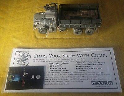 Corgi US50204 M35 Deuce & a Half 2.5 ton Truck USMC Ltd Edition. M-35 2.5t. for sale  Weston-super-Mare