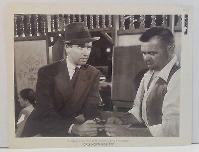 """1948 JAMES STEWART in """"Call Northside 777"""" - 8x10 ORIGINAL Movie Photo Still"""