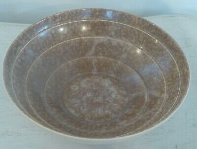 1940's Art Deco Style Marble Effect Terraced Bowl 29 cm x 9 cm