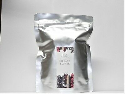 Hibiscus Flowers (Hibiscus Tea Flower Cut Sifted - 1 2 4 5 6 8 10 14 16 oz lb up to 2)