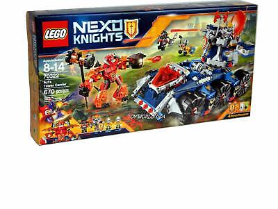 Lego NEXO KNIGHTS #70322 Axl's Tower Carrier Building Toy Set