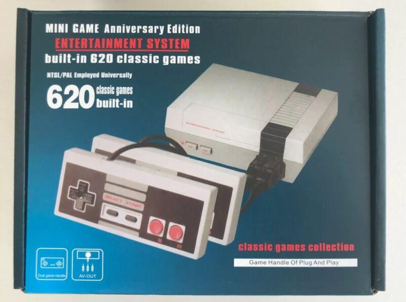 Mini NES Game Console 620 Built in Classic Nintendo Games Anniversary Edition