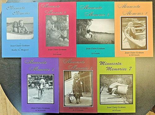 7 BK Set: Minnesota Memories 1-7 Humor Midwest Region Biography Illustrated