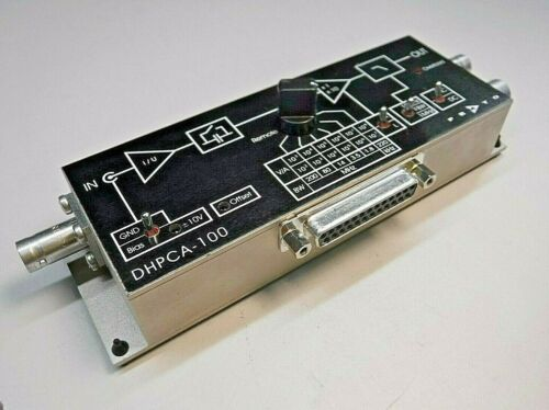 Femto DHPCA-100 Variable Gain High Speed Current Photodiode Amplifier (200 MHz)