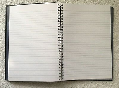 Note Pad Staples Accel Lined Paper School 9.75 X 7.25 Scratches On Cover New