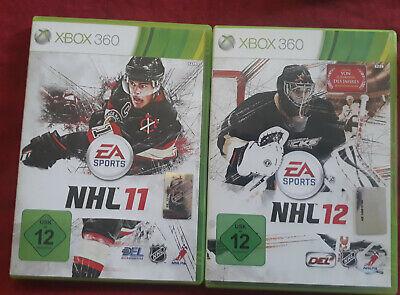 XBOX 360 2 Spiele NHL12 NHL11