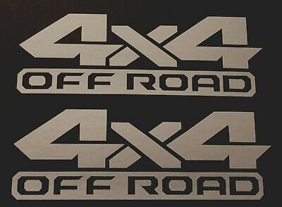 NEW 4X4 OFF ROAD DECAL STICKER TRUCK FORD F-150 CHEVY SILVERADO DODGE RAM TOYOTA