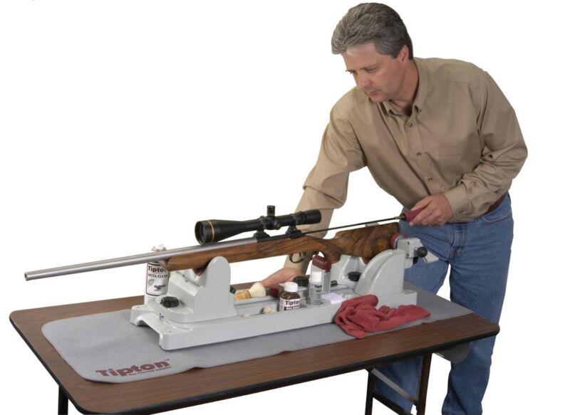 GUN VISE for GUNSMITHS MAINTENANCE RIFLES PISTOLS HANDGUNS CLEANING