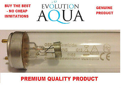 - Evolution Aqua Osram 8w T5 Replacement UV Ultra Violet Pond Bulb Green Water
