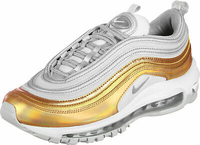 Nike Air Max 97 SE Women's Trainers Gold Silver UK 5.5 EU 39 BNIB