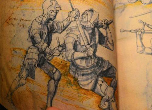 Fencing Manuscript 1550 AD, Facsimile