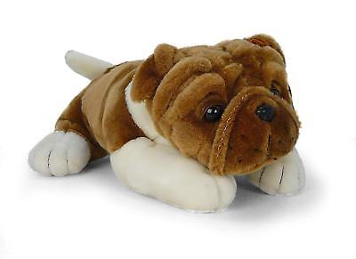 Realistic Plush Stuffed Animal Kids Gifts Toys Puppy Dog 10 Inches Soft Bulldog - Stuffed Bulldog
