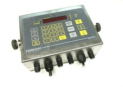 Fairbanks Scales 115230v .05a Model Ind-hr2300-2 Scale Head .. Wd-11