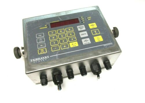 Fairbanks Scales 115/230V, .05A Model  IND-HR2300-2 Scale Head  .. WD-11
