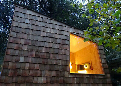 Unique Design Contemporary Garden Office Studio Sleeper Cabin By Modjul Design