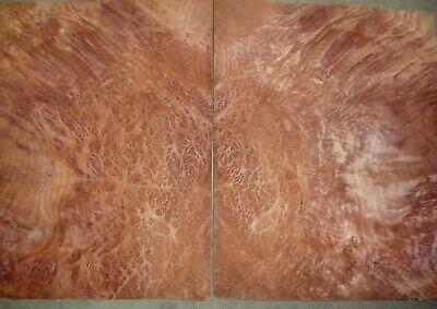 Redwood Burl Wood Veneer 142 Thick 13.5 Wide And 17 Long