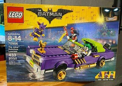 LEGO Batman Movie The Joker Notorious Lowrider 2016 (70906)
