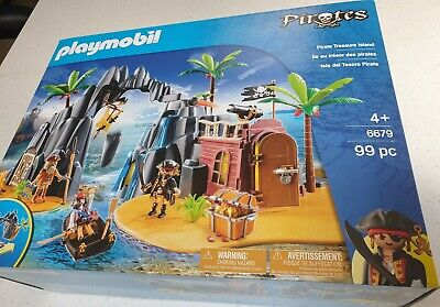 NEW! Playmobil 6679 - Pirate Treasure Island with Lockable Jail Cell