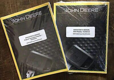 John Deere Greenstar Display Guidance Operators Manual New In Plastic