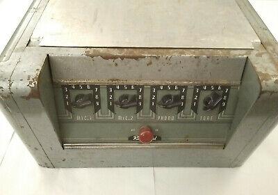 Vtg Antique Rauland Borg Model W-821A Vacuum Tube Amplifier 140 Watts USA MADE
