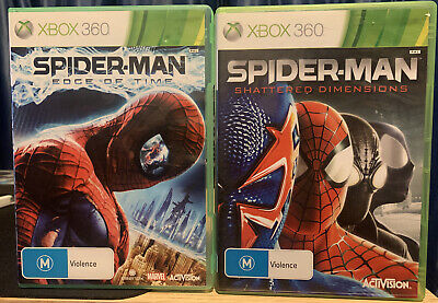 Spiderman Shattered Dimensions & Edge Of Time Xbox 360, PAL