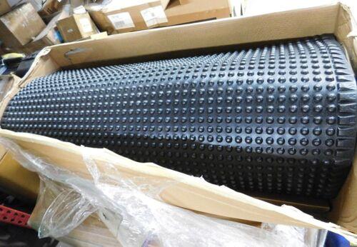 Wearwell Anti-Fatigue Ergonomic Floor Mat 4 Ft W x 75 Ft L Qty 1 300.38X4X75BK