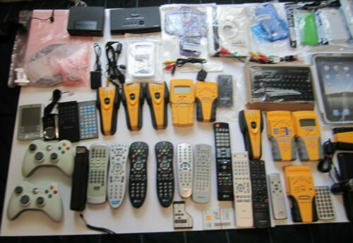 Mixed Lot of Electronics,  remotes, phone cases, case for ipad &  more...    R