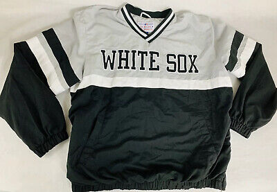 Chicago White Sox Men's Pullover Light Weight Jacket Size XL Chicago White Sox Pullover
