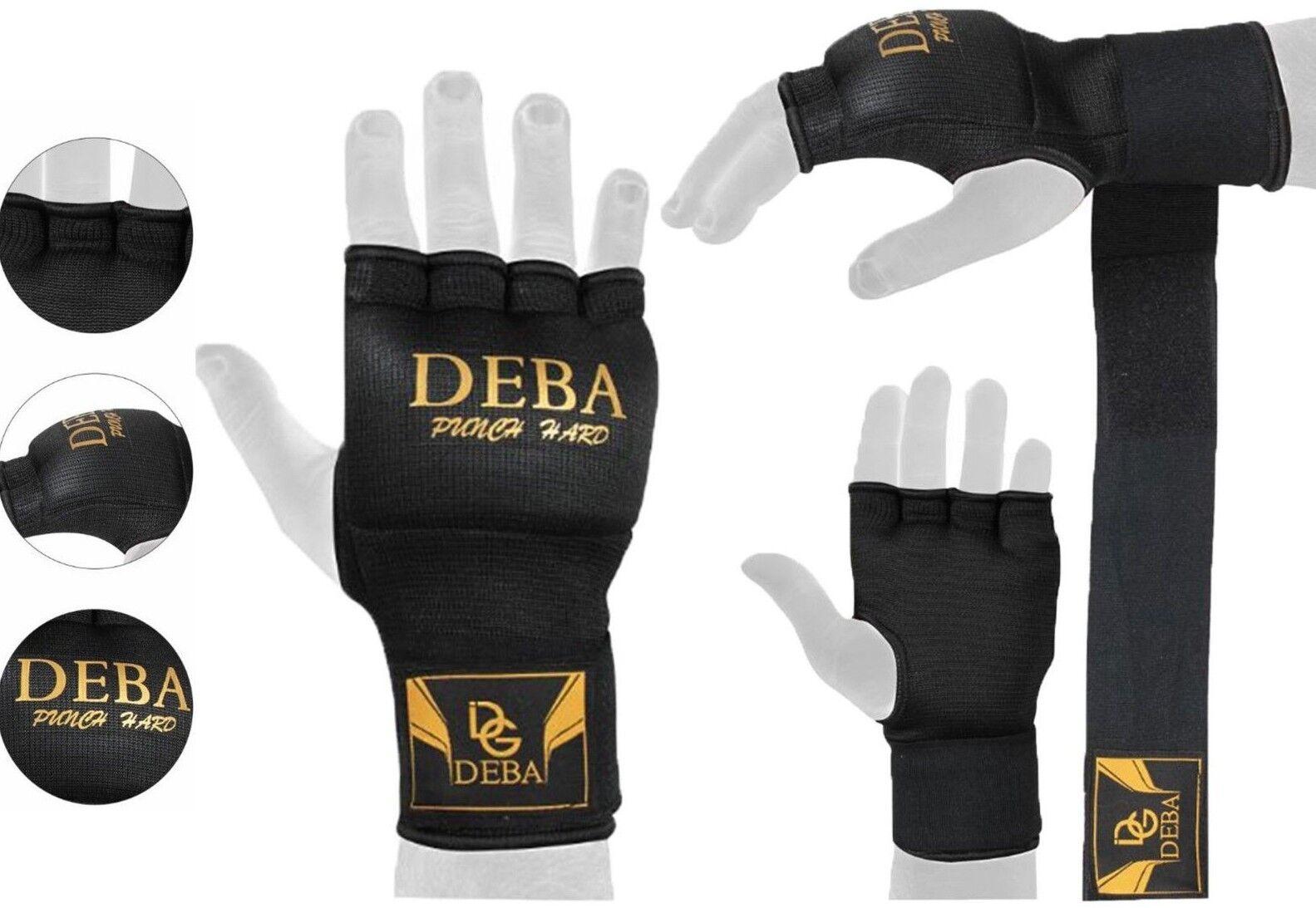 Deba® Boxbandage Gel Handschuh MMA Handschuhe Gel wrap Kampsport Kickboxen Neu