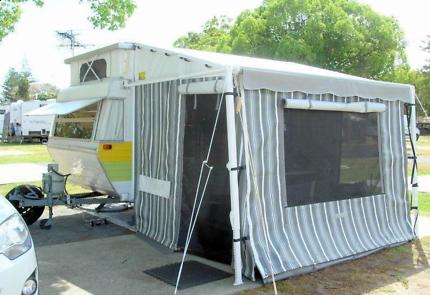 Viscount Tourer Pop-top Caravan $11250
