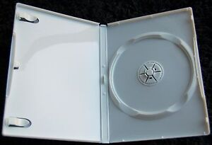 (6) Empty Wii or Disney DVD Replacement Cases 14mm NEW from Box of Cases!