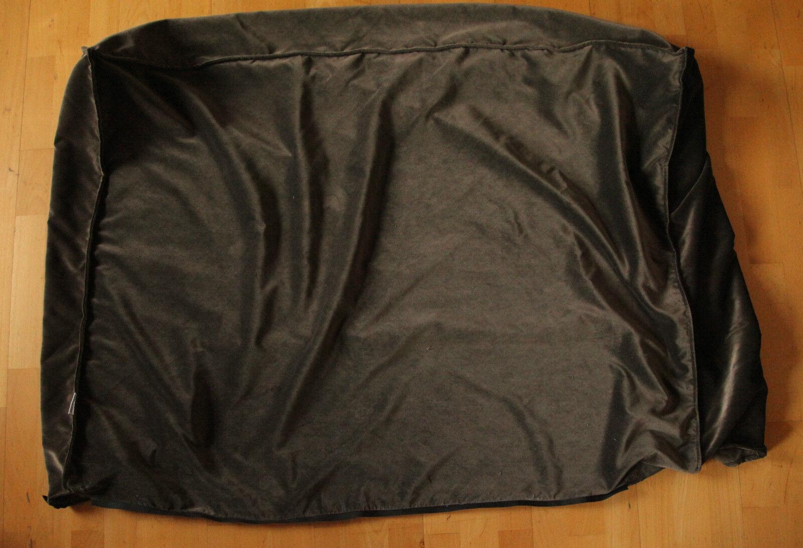 who s perfect bonaldo designer bettbezug bett berzug modell fluff tessuto braun eur 500 00. Black Bedroom Furniture Sets. Home Design Ideas